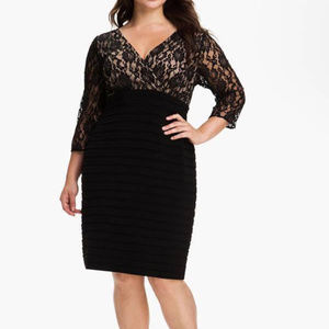Adrianna Papell BLACK Size 8 #114 NWT